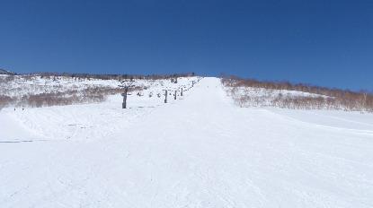 かぐらスキー場のゲレンデ