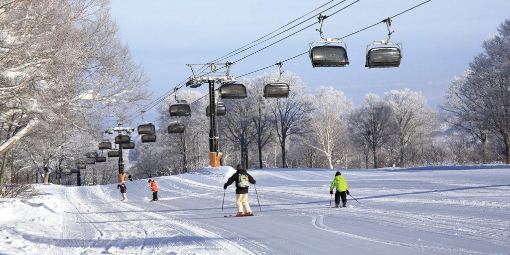 野沢温泉スキー場のゲレンデ