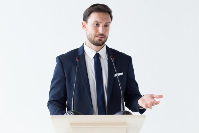 どんなスピーチをした?